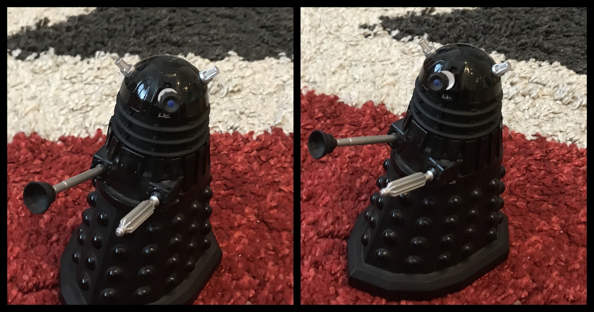 Die-cast Dalek (10.3% deviation)
