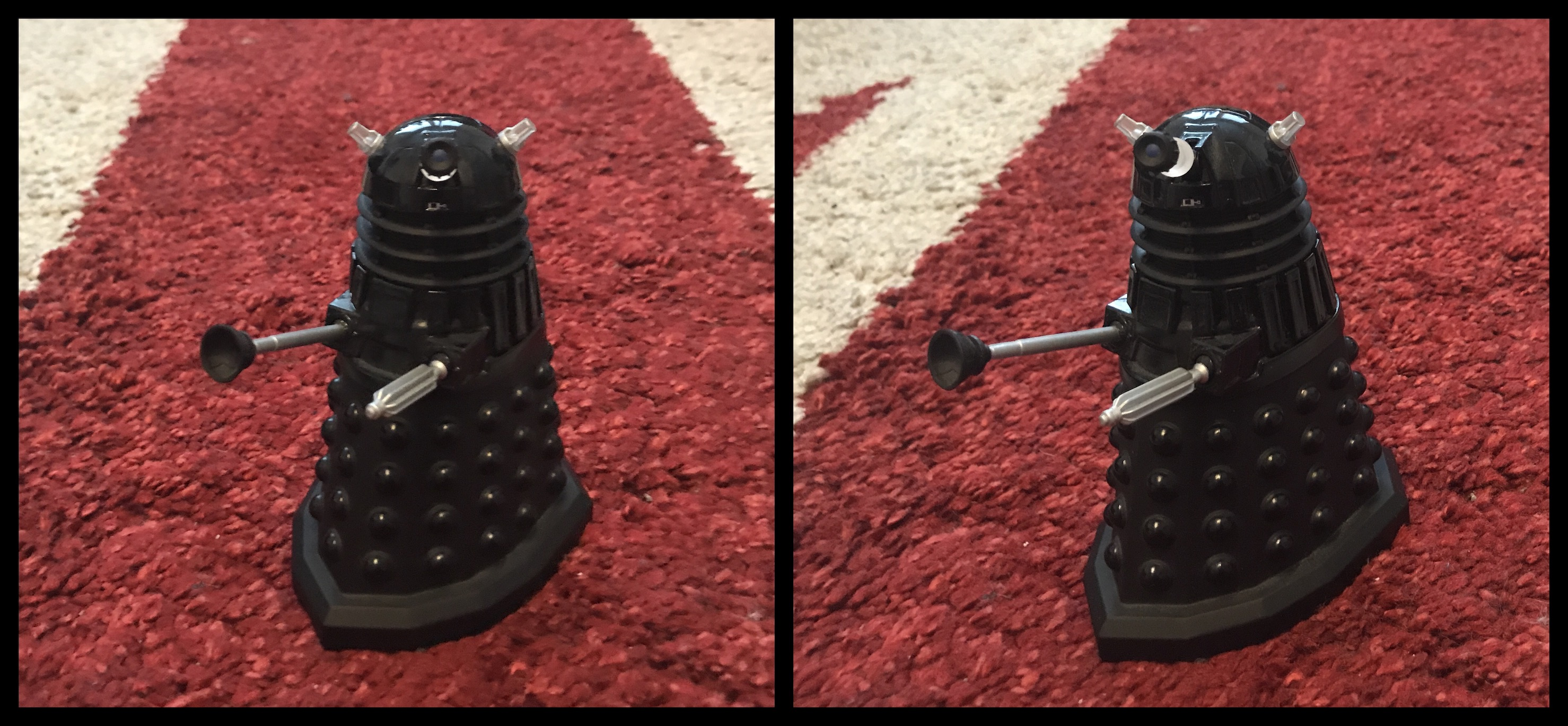 Die-cast Dalek (10.1% deviation)